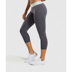 Gymshark Fit Seamless Mid Rise Crop Leggings S